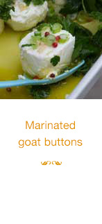 Marinated Goat Buttons